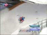 Санный спорт / Чемпионат Европы 2012 / Парамоново (Россия) / Командная эстафета / Евроспорт 2